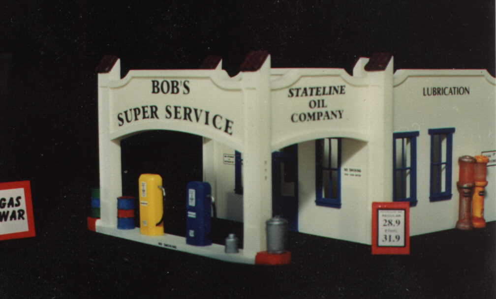 SNYDER SUPPLY CO Easy to build Z Scale kit by Randy Brown Z-154
