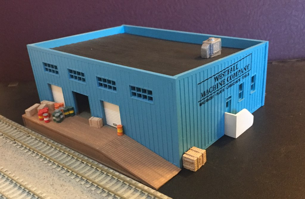 N-905 Easy to build N Scale kit by Randy Brown TINY/'S DINER